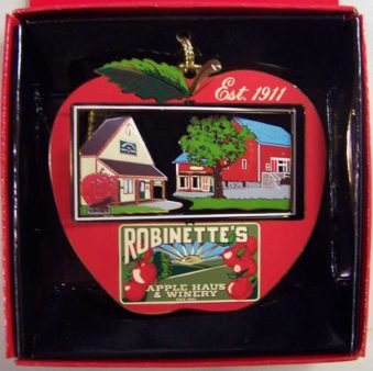 Robinette's 3D Brass Ornament