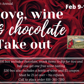 Love, Wine & Chocolate Take Out